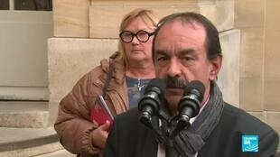 "2019-12-18 19:02 'We don't agree with each other"", CGT union head Philippe Martinez says on Macron's pension reform"