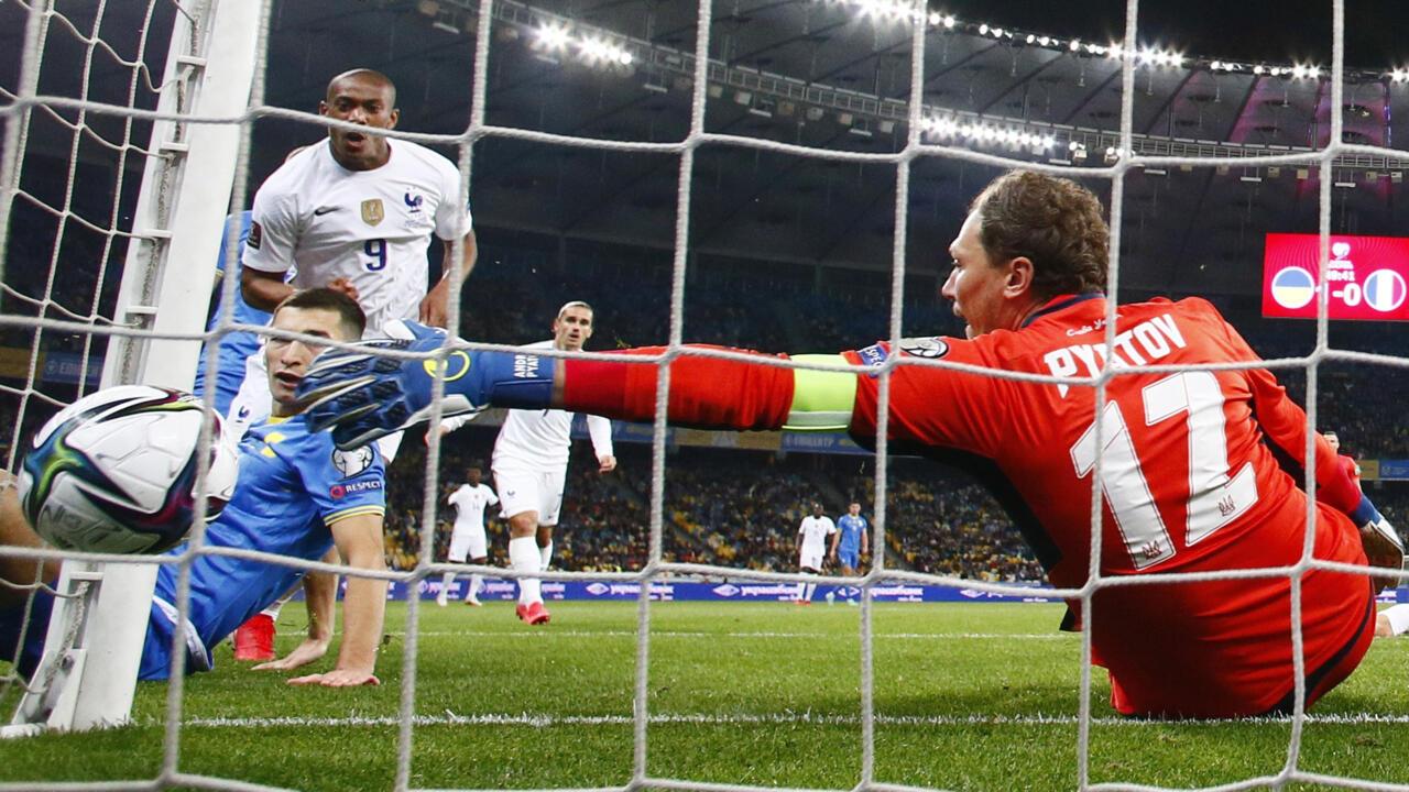 تصفيات مونديال 2022: فرنسا تواصل تقديم أداء متواضع بعد تعادلها مع أوكرانيا