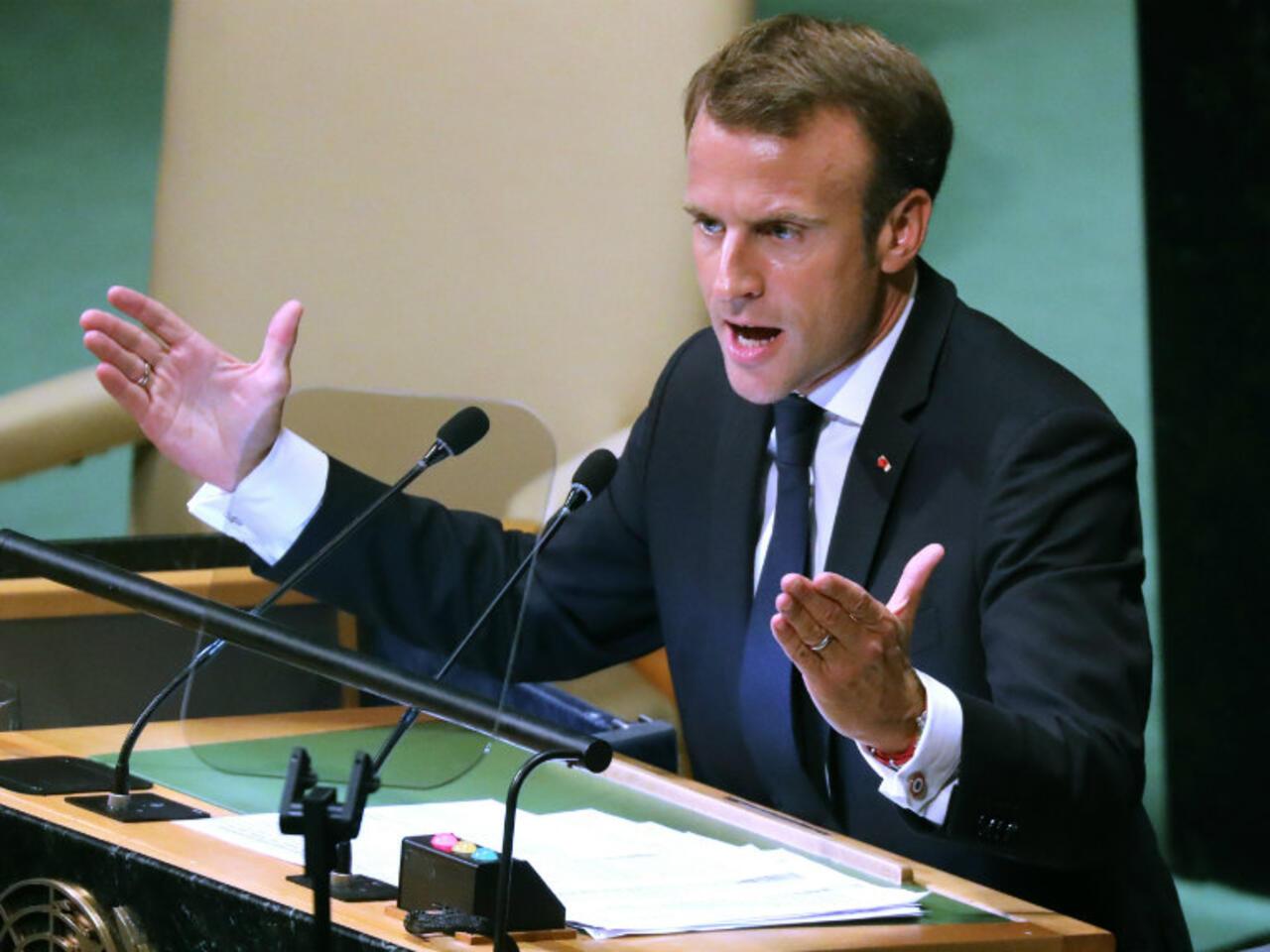 Macron Calls For Multilateralism In Rebuttal To Trump S Isolationist Un Speech
