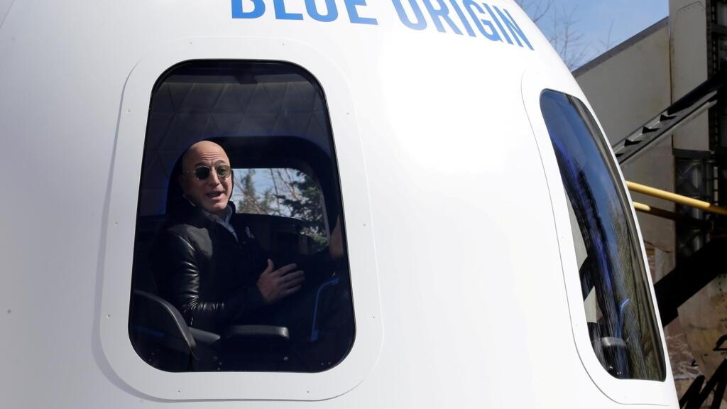 Amazon founder Jeff Bezos to go to space on Blue Origin rocket thumbnail