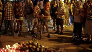 Un rassemblement contre le terrorisme a eu lieu le vendredi 25 août à Cambrils en Catalogne.