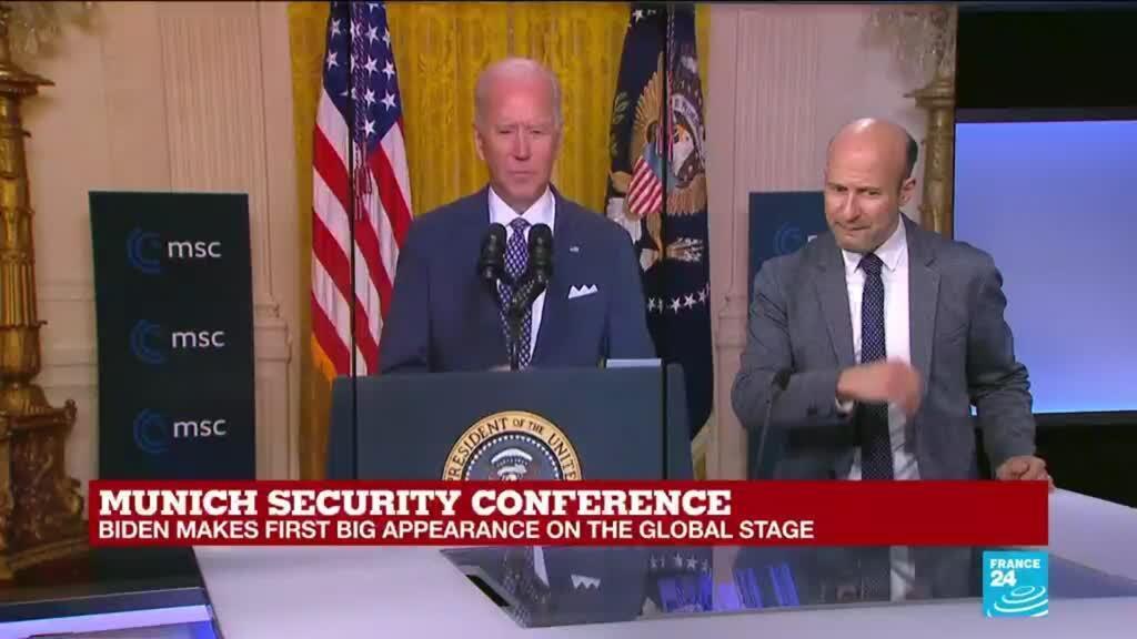 2021-02-19 17:17 REPLAY: 'Transatlantic alliance is back', Biden says in Munich speech