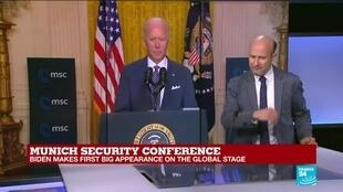 2021-02-19 17:17 REPLAY: 'Transatlantic alliance is back', Biden says in Munich speech