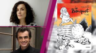 Coco et Raphael Enthoven Le Banquet sur France 24