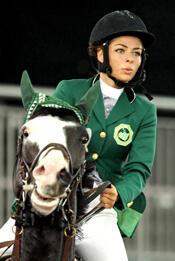 Dalma Rushdi Malhas, cavalière saoudienne - AFP Photo