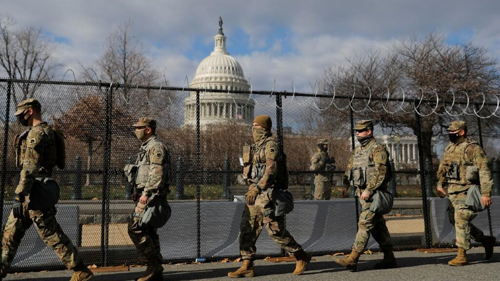 More than 20,000 soldiers of the National Guard will be in charge of protecting the security of the event and avoiding incidents.