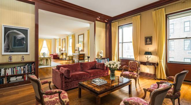 L'appartement est situé 740 Park Avenue à Manhattan