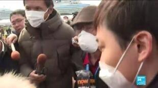 2020-02-19 10:01 Coronavirus : Avec le Diamond Princess, le Japon devient le second foyer de contaminations du virus