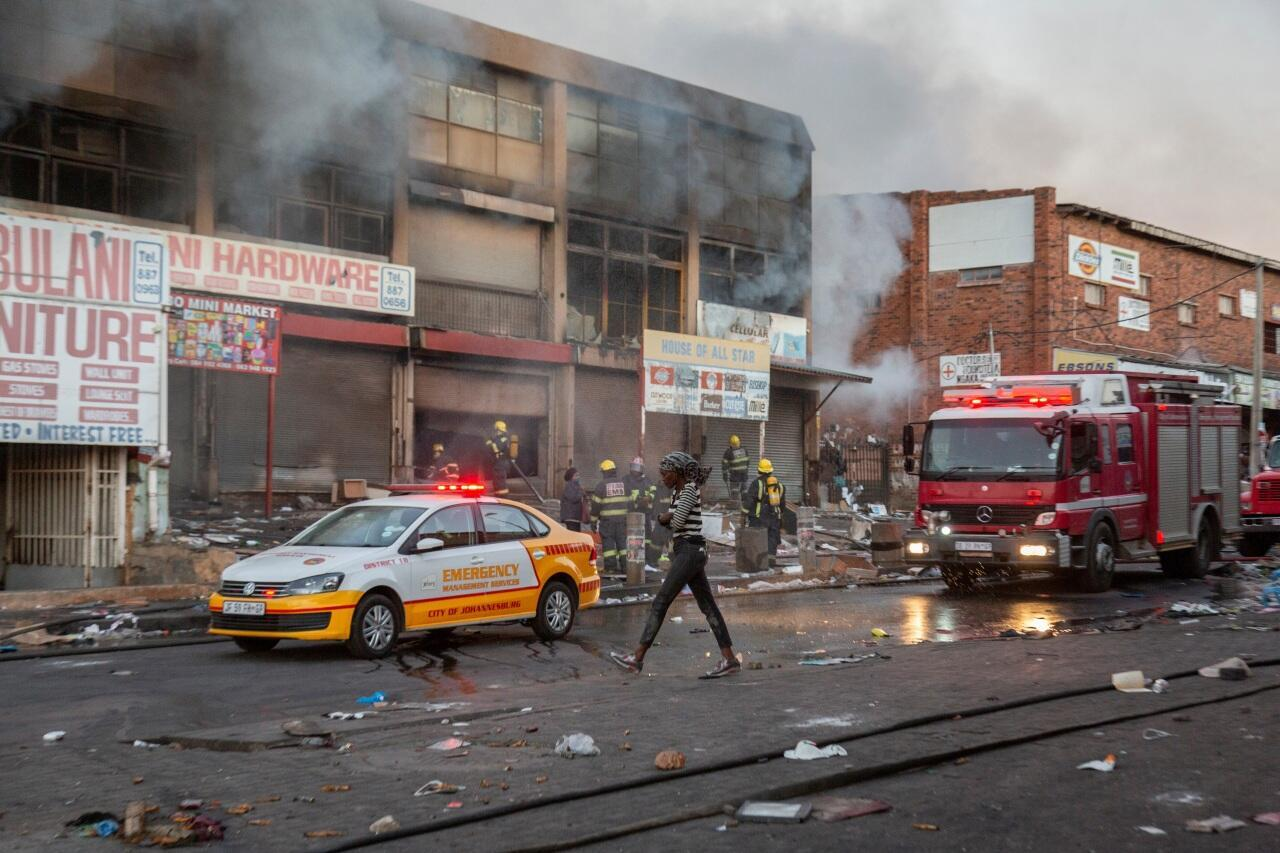 South Africa Johannesburg looting
