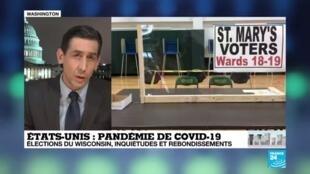 2020-04-07 14:13 États-Unis : En plein crise du coronavirus, les élections maintenues dans le Winsconsin