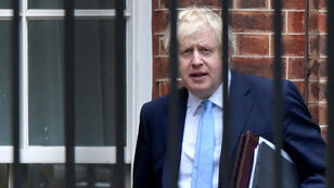 El primer ministro británico, Boris Johnson, sale de su residencia oficial en Londres, Reino Unido, el 9 de septiembre de 2019.