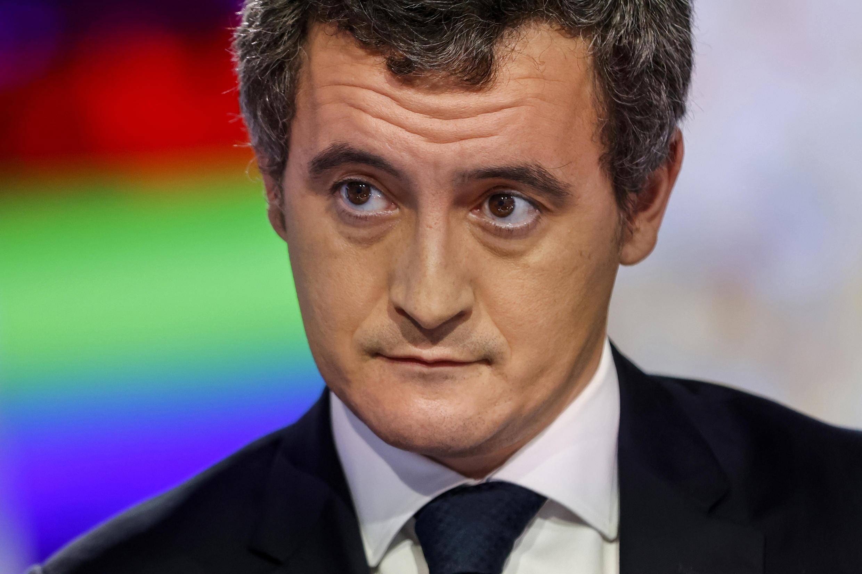 File photo of French interior minister Gerald Darmanin