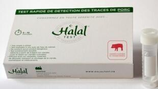 """Le """"HalalTest"""" détecte en quelques minutes la présence d'albumine porcine sérique dans les aliments."""