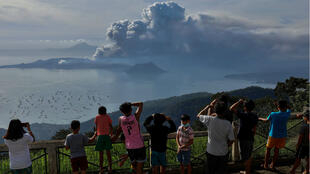 PHILIPPINES-VOLCANO-TAAL