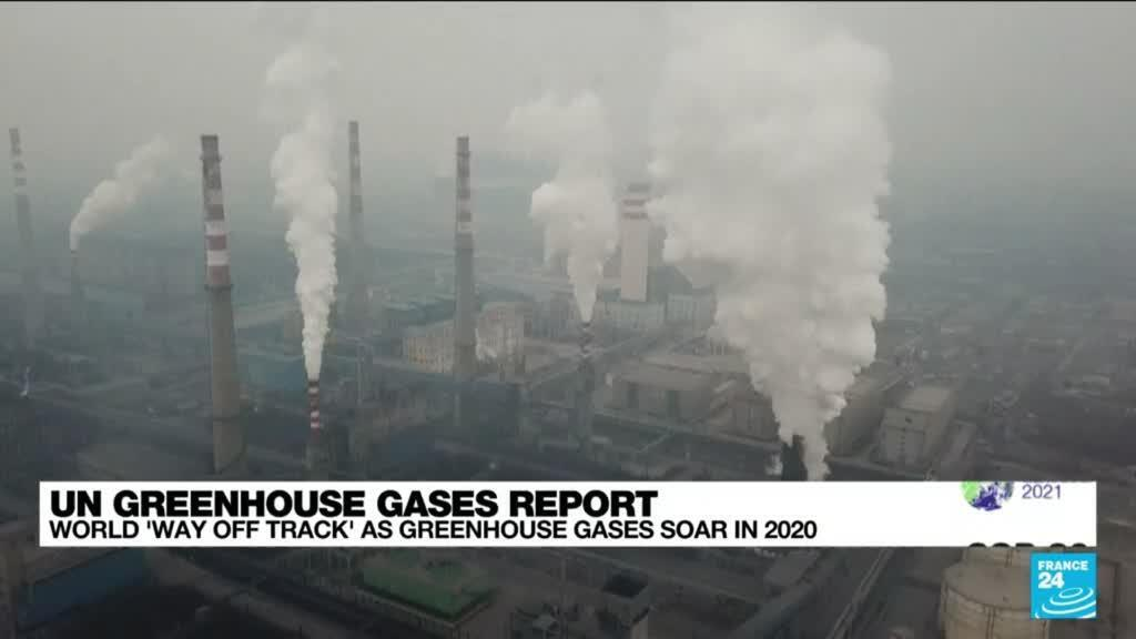 2021-10-25 15:05 World struggles to curb damage as greenhouse gas levels hit record