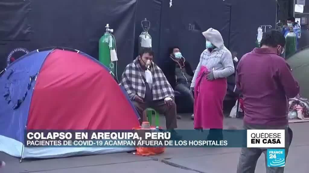 Colapso en Arequipa