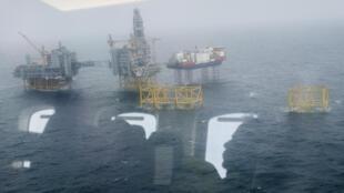 حقل يوهان سفيردروب النفطي قي بحر الشمال قبالة النروج في 09 تشرين الأول/اكتوبر 2018