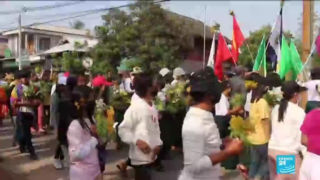 2021-04-13 16:11 UN fears Myanmar heading towards 'full-blown conflict' as junta strengthens crackdown