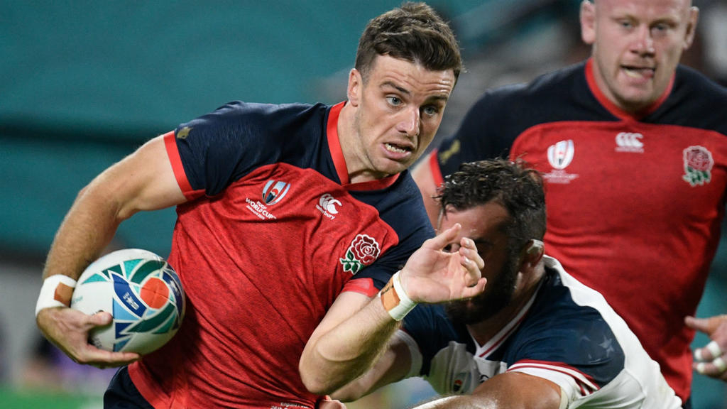 England and Italy crush North American minnows in Rugby World Cup