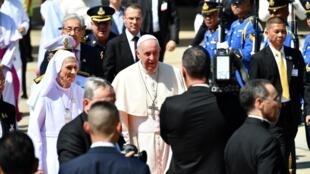 Pope Francis in Bangkok, Thailand November 20, 2019.