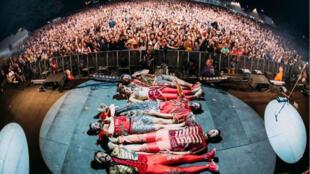 Le groupe Deluxe s'est produit le 12 août au festival Musicalarue.