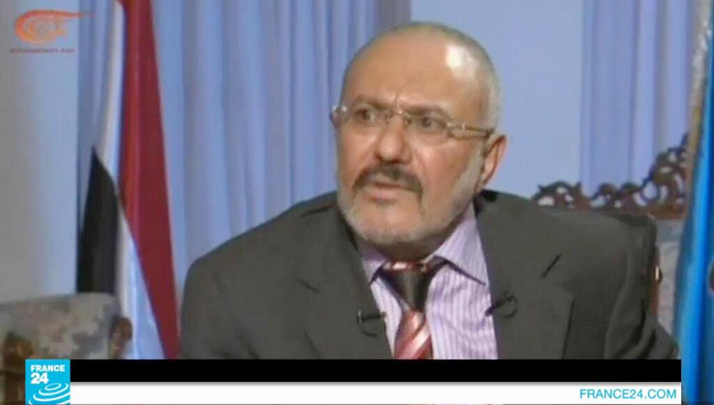 الرئيس اليمني السابق علي عبدالله صالح