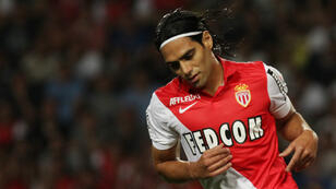 Radamel Falcao, attaquant à l'AS Monaco.