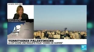 """2021-03-03 18:01 Territoires palestiniens : la CPI ouvre une enquête pour """"crime de guerre"""""""