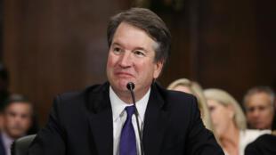 Le juge Brett Kavanaugh, entendu par le Sénat américain le 27 septembre 2018.