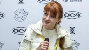 Un juge a ordonné mercredi 18 juillet le maintien en détention de Maria Boutina, ici en 2013.