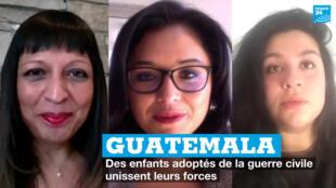 Guatemala, des enfants adoptés de la guerre civile unissent leurs forces