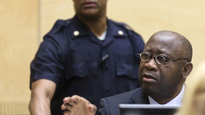 Laurent Gbagbo à la CPI en février 2013.