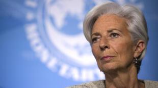 Christine Lagarde s'est mise en congé du FMI pendant son procès sur son rôle dans l'arbitrage Tapie.