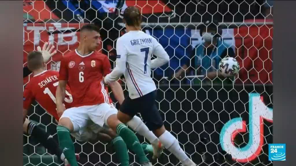 2021-06-19 22:06 Euro de football : la France concède le match nul contre la Hongrie