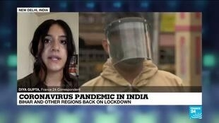 2020-07-16 12:04 Indian states ordered back into lockdown as coronavirus cases surge
