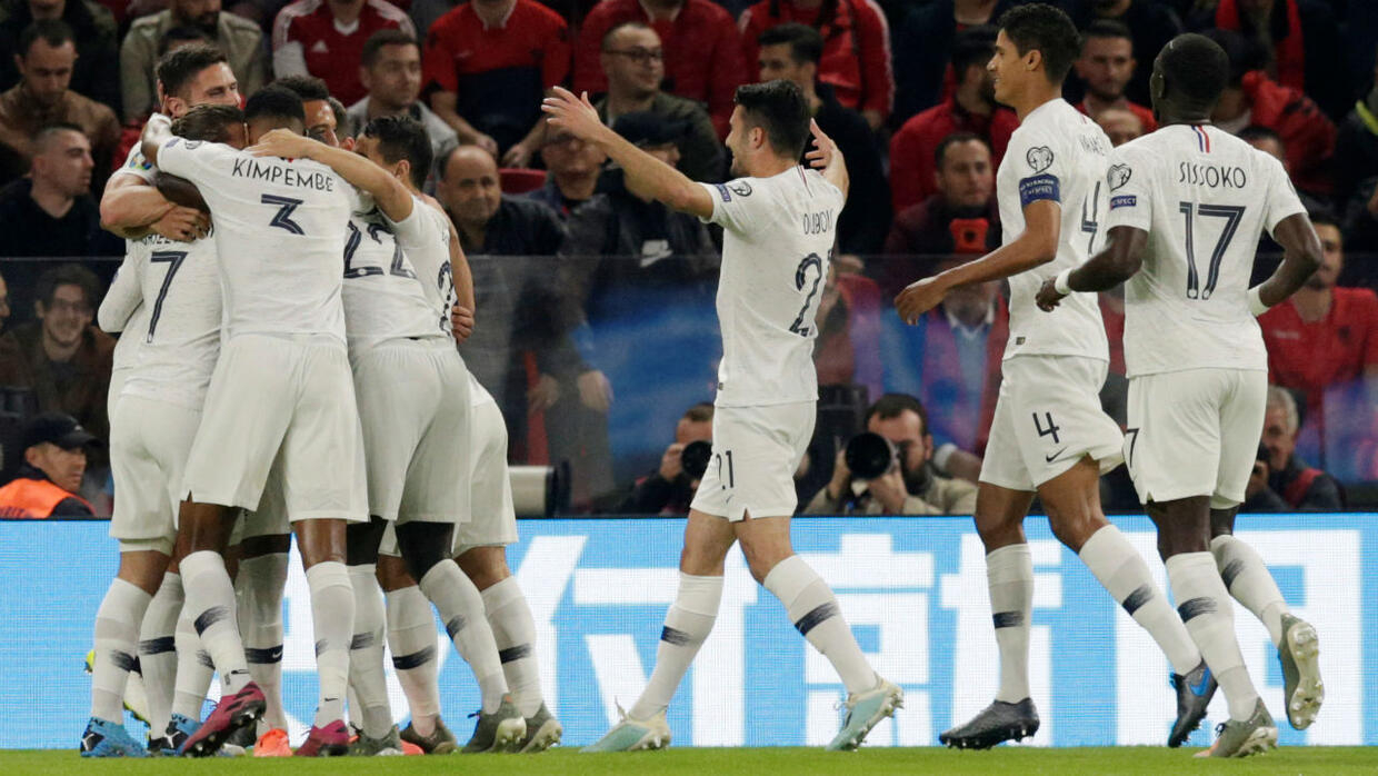 France beat Albania in final Euro qualifier to top Group H