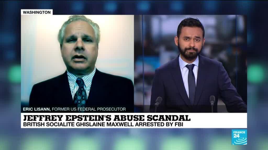 2020-07-02 22:01 Jeffrey epstein's abuse scandal : british socialite Ghislaine Maxwell arrested by FBI