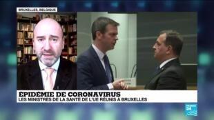 2020-03-06 16:04 Les ministres de la santé de l'Union européenne se disent prêts à faire face au Coronavirus