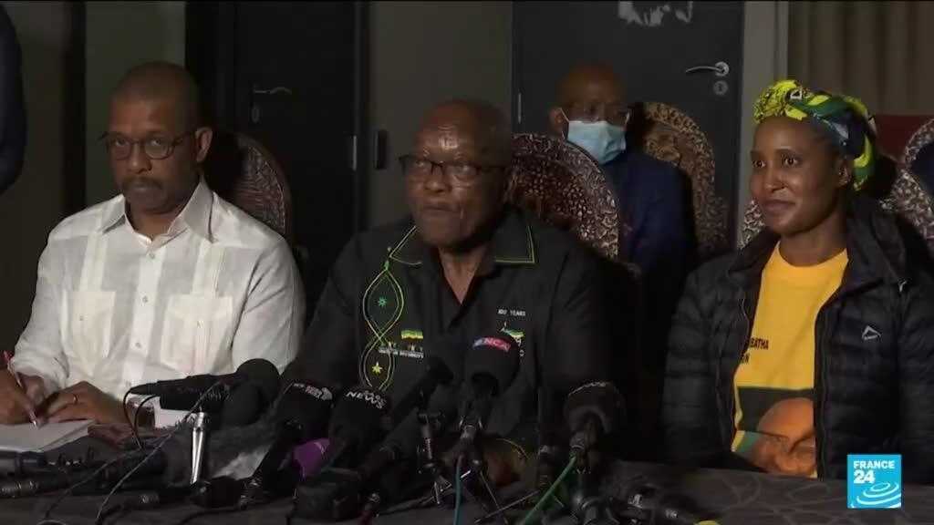 2021-07-08 10:33 Afrique du Sud : l'ancien président Jacob Zuma dort désormais en prison