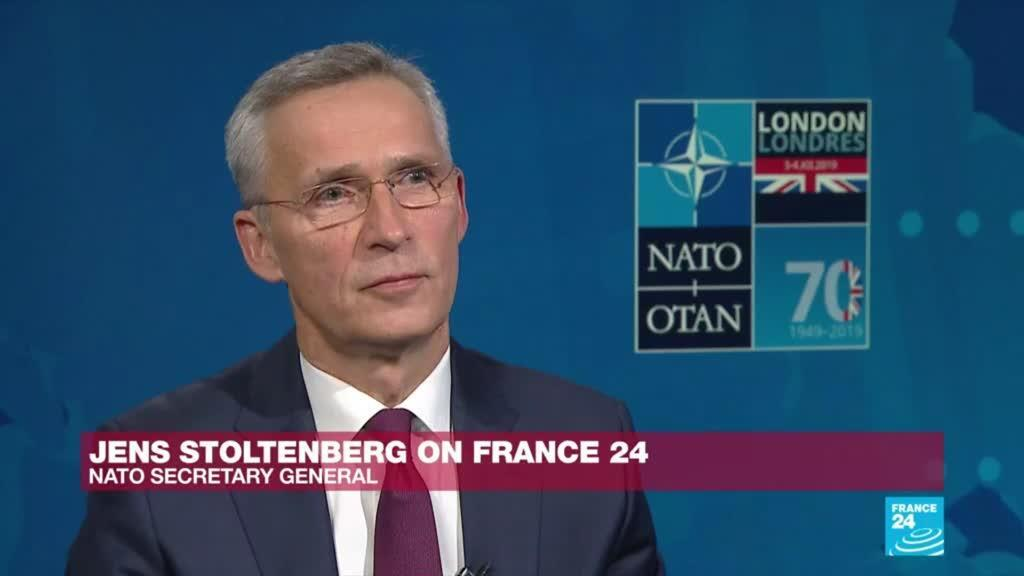 2019-11-29 21:14 NATO chief Jens Stoltenberg 'optimistic' that allies will support France in Sahel region