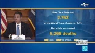 2020-04-09 08:01 Coronavirus : Nouveau record de décès quotidiens dans l'État de New York