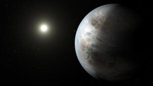 Kepler-452b se situe à 1 400 années-lumières de la Terre