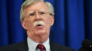 """US National Security Advisor John Bolton, on the sidelines of the annual UN General Assembly, vows """"maximum pressure"""" on Iran but insists US not seeking regime change"""