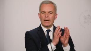 Le ministre de la Transition écologique et solidaire, François de Rugy, le 9 juillet 2019 à Paris.