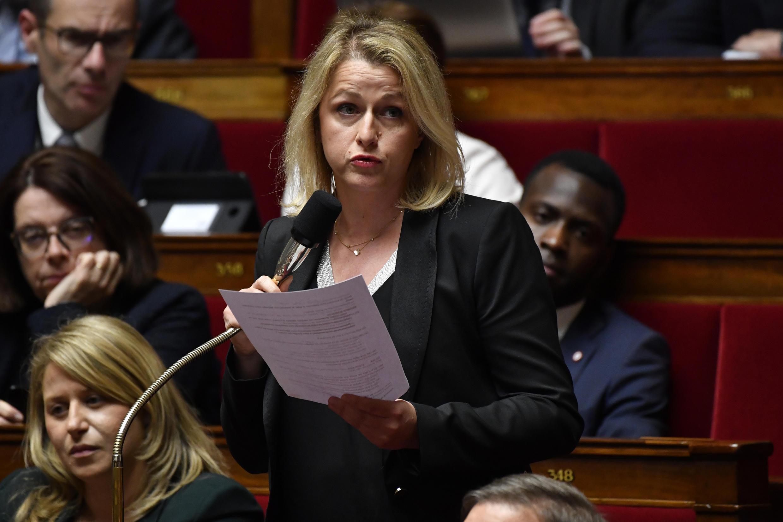 La ex secretaria de Estado, Barbara Pompili, nombrada el lunes 6 de julio ministra de la Transición Ecológica en el Gobierno de Jean Castex.