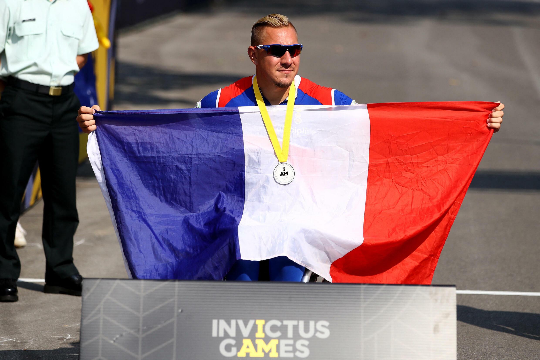 Le Français Rémy Boullé lors des Invictus Games, le 27 septembre 2017 à Toronto.