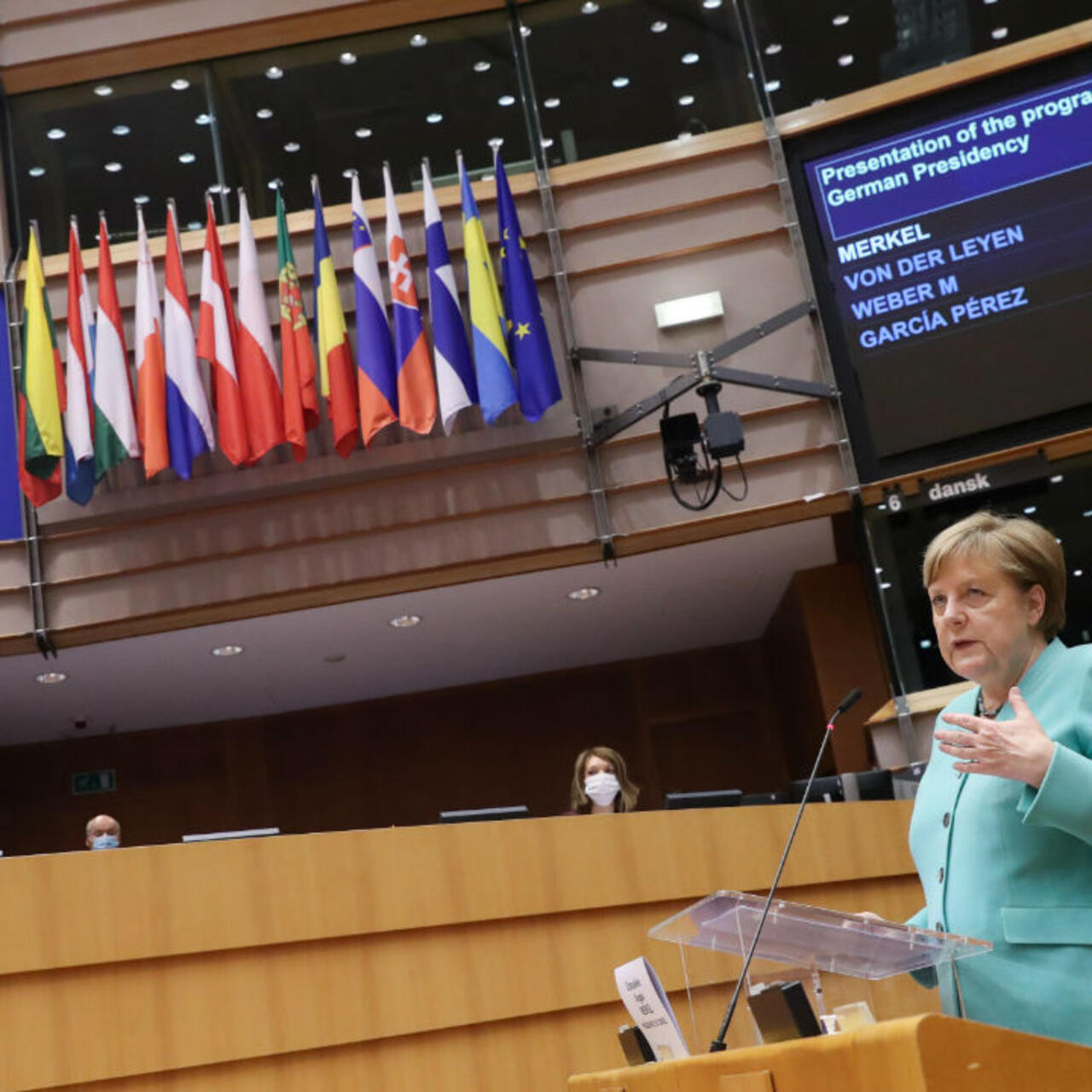 Covid-19 has exposed the limits of 'fact-denying populism', Merkel ...