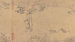 Des animaux anthropomorphes, de la poésie, une nature omniprésente... Ce vieux parchemin contenait déjà tous les ingrédients typiques des studios Ghibli.