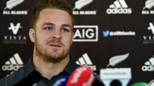 Remarkable comeback: New Zealand flanker Sam Cane broke his neck in October last year but will be on the bench for the Waikato Chiefs on Saturday