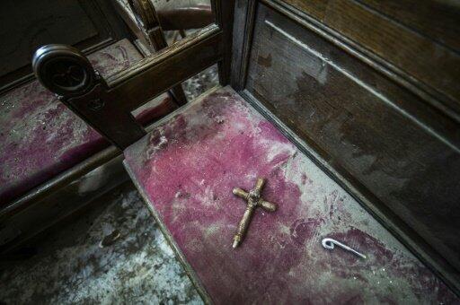أضرار ناتجة عن تفجير الكنيسة البطرسية